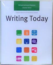 WRITING TODAY - CUSTOM EDIION FOR ITT TECHNICAL INSTITUTE - 2010