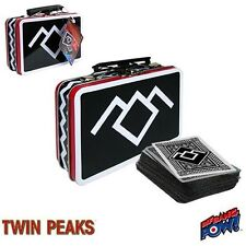 Twin Peaks Mini Tin Tote with Deck of Playing Cards NEW Black Lodge SALE!!