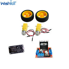 Smart Car Robot Plastic Tire Wheel With Dc 3 6v Gearbox Motor For Arduino
