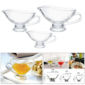 Clear Beefsteak Sauce Boat Tableware Tomato Juice Container for Bar Tool