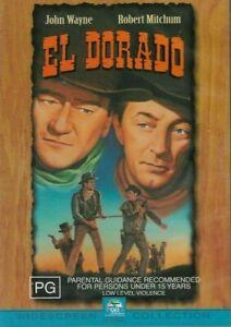 El Dorado DVD Brand New & Sealed John Wayne Robert Mitchum