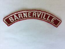 Barnervile RWS Red & White Community Strip