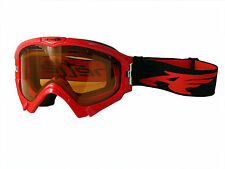 ARNETTE SERIES 3 SNOW GOGGLES AN5001 CHERRY RED FRAME PERSIMMON LENS NEW