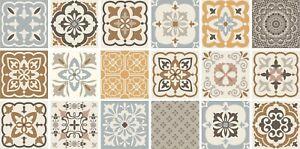 'Retro Vintage' tile stickers