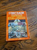 NOS STREET RACER FACTORY SEALED W/BOX VIDEO GAME FOR ATARI 2600 USA CX 2612 1978
