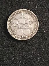 USA 1892 Columbian Exposition Silver Half Dollar