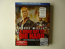 A Good Day to Die Hard (Blu-ray/Dvd, 2013, 2-Disc) New w/slipcover