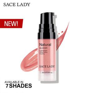 SACE LADY 7 Colors Liquid Blush Makeup Face Rouge Long Lasting Make Up Professio