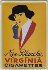 Metalen Kaart/Tin-Card/Blechkarte - Miss Blanche Virginia (010)