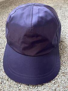 Vintage Mens Small / Medium L.L. Bean Gore-Tex Ripstop Purple Strapback Hat Cap
