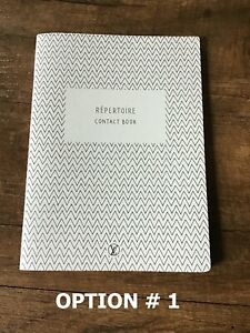 Authentic LOUIS VUITTON Address Contact Book A-Z