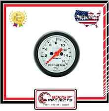 AutoMeter 0-1600 °F EGT/Pyrometer Phantom Analog Gauge * 5744 *