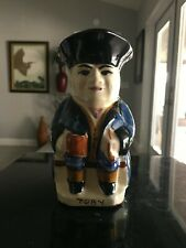 Dartmouth Pottery Toby Devon England , Captain Toby Drinking Rum 6 inch tall