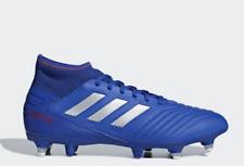 ADIDAS Predator 19.3 Mens SG Football Boots Blue Size UK 9.5 Us 10 (DF)*REFCRS53