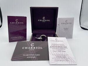 Charriol Infinity Zen Bangle Stainless Steel Ladies Bracelet 6.5 in Size M