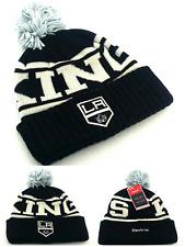 new concept 53093 f6de2 Los Angeles Kings LA New Reebok Beanie Toque Black Cuffed Pom Knit Era Hat  Cap