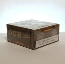 OCB Non-Bleached King Size Slim Smoking Rolling Paper - 1 Box (50 Booklets)