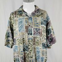 Kona Kai Trading Co Hawaiian Mens Large Hawaiian Shirt Alaho