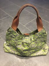 ORLA KIELY Print Hand Shoulder bag with leather handle.