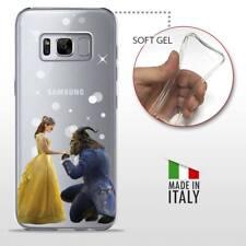 Samsung Galaxy S8 CASE COVER PROTETTIVA TRASPARENTE Disney La Bella e la Bestia