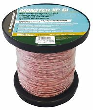 Monster Cable XP CI 16 Gauge High Performance Speaker Wire - 100 Ft - CL3 Rated