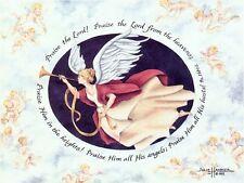 """""""Angel"""" Greeting Cards-pack of 10 & envelopes, by artist, Julie Hammer"""
