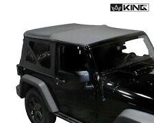 10-18 Jeep Wrangler JK 2 Door Premium Replacement Soft Top  With Tinted Windows