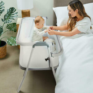 New 2021 Moonlight Co Sleeper Co Sleeping Baby Bassinet Tilt Adjustable