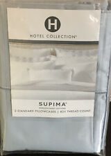 HOTEL COLLECTION 2 Standard Pillowcases SUPIMA COTTON 825TC Frost $145