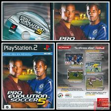 PRO EVOLUTION SOCCER 5 JEU CONSOLE PLAYSTATION 2 COMPLET PAL FR