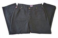 Woman Within Natural Fit 100% Cotton Black Jeans Sz 18 (34 x 30)