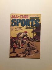 All-Time Sports #7, 1949 VG cond, Walter Johnson Story, Hillman Publication.