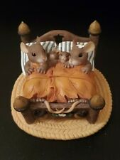 """Charming Tails """"Honeymoon's Over"""" Mouse Mice Family Figurine"""