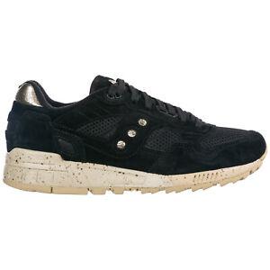 Saucony sneakers men shadow 5000 70414/01 Black Pelle Scamosciata shoes