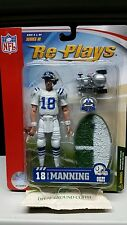 PEYTON MANNING #18 COLTS SIDELINE GRACELYN RE-PLAYS SERIES 3 w/MINI CAR