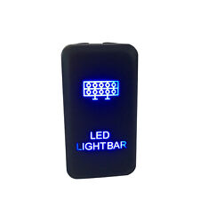 LED Light Bar ON-OFF Push Button Switch Laser For Toyota FJ Cruiser Prado 12V