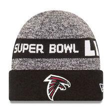 Atlanta Falcons New Era SUPER BOWL LI BOUND Cuffed Knit Hat - Heathered Gray