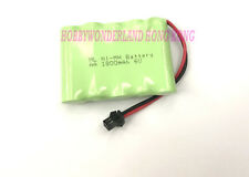 Heng Long 3853A 6V Ni-MH 1800mAh AA 1*5 5-Cell Battery w/. SM plug for RC Truck