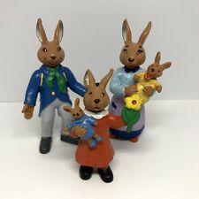 Vtg Bully Germany Easter Bunny Ida Bohatta Rabbit Family Figures Lot