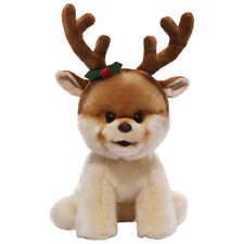 "Bitty Boo - 8"" Plush Toy With Reindeer Antlers *BRAND NEW*"