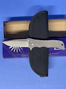 Camillus collectible knife CUDA Titanium handle CU2447 CUDA Dominator