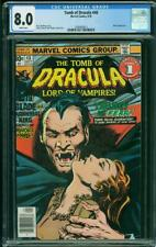 Tomb of Dracula #48 (Marvel, 9/76) CGC 8.0 VF (Blade appearance)