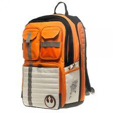 OFFICIALLY LICENSED TFA STAR WARS Rebel Alliance Icon Orange White BACKPACK BAG