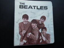 THE BEATLES RING BINDER NEMS ENTERPRISES 1964 EXCELLENT CONDITION