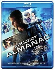 PROJECT ALMANAC NEW BLU RAY DISC MOVIE ACTION SC-FI THRILLER MTV MICHAEL BAY