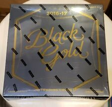 2016-17 Panini Black Gold Soccer Factory Sealed Hobby box FREE SHIP!