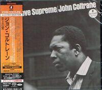 "John Coltrane ""A Love Supreme"" Japan SACD w/OBI NEW/SEALED Tower Records"
