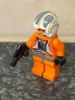 LEGO STAR WARS ZEV SENESCA REBEL PILOT MINI FIGURE VGC