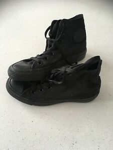 Converse All Star boots black size 4