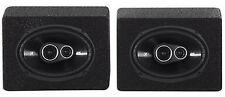 (2) Kicker 43DSC69304 DSC6930 6x9 360w 3-Way Car Speakers+(2) Enclosures DS693